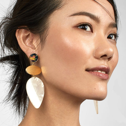 Statement Drop Earrings in Various Styles and Colors