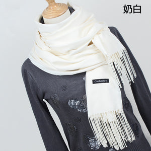100% Cashmere Solid Color Scarf/Pashmina- Multiple Colors Available