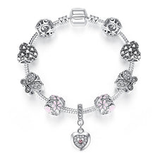 Load image into Gallery viewer, 925 Silver Charm Bracelet in Various Sizes and Styles