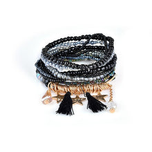 Load image into Gallery viewer, Bohemian Multi-Layer Tassel Charm Bracelet in Various Styles and Colors