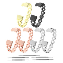 Load image into Gallery viewer, Replacement Watch Band For Fitbit Charge 2  Metal Rhinestone Adjustable Wristband Women Fashion Accessory