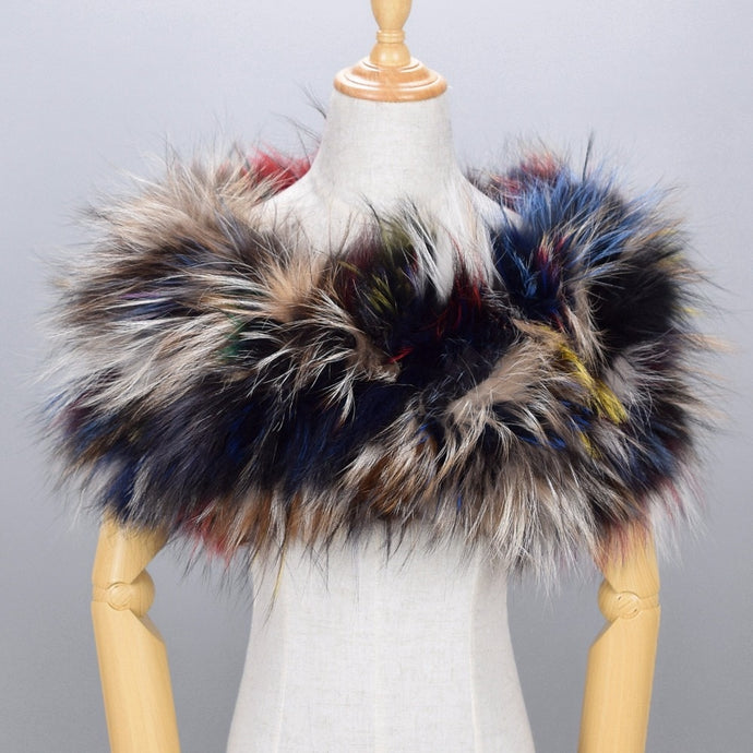 Authentic Fox Fur Stole- Multiple Colors Available