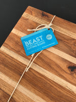 The Beast - Texas pecan and maple cutting board