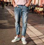Slim Fit Ankle Length Jeans