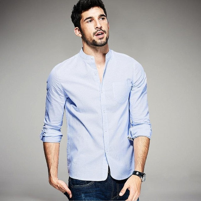 Fashionable Light Blue Shirt