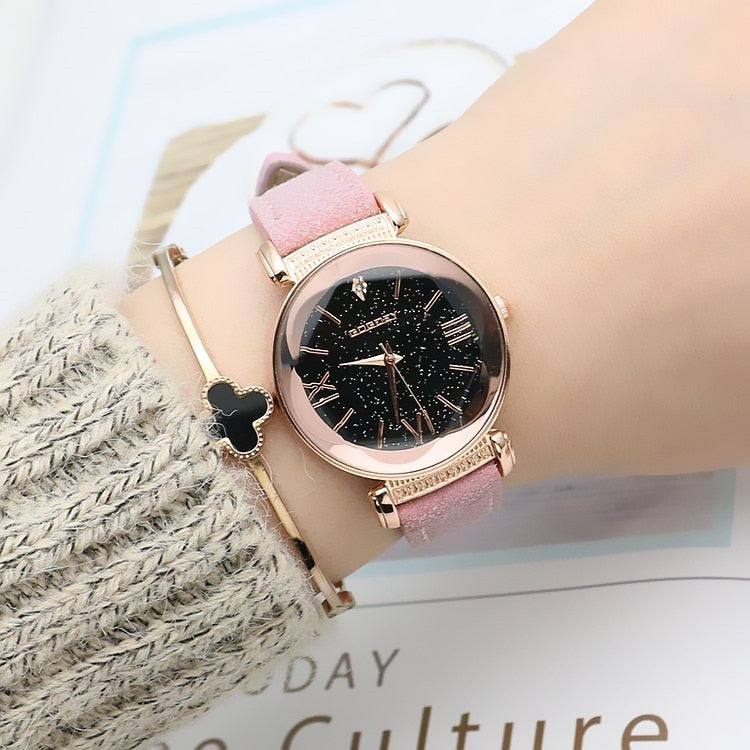 Women Casual Leather Watch