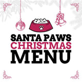 Santa Paws Christmas Menu