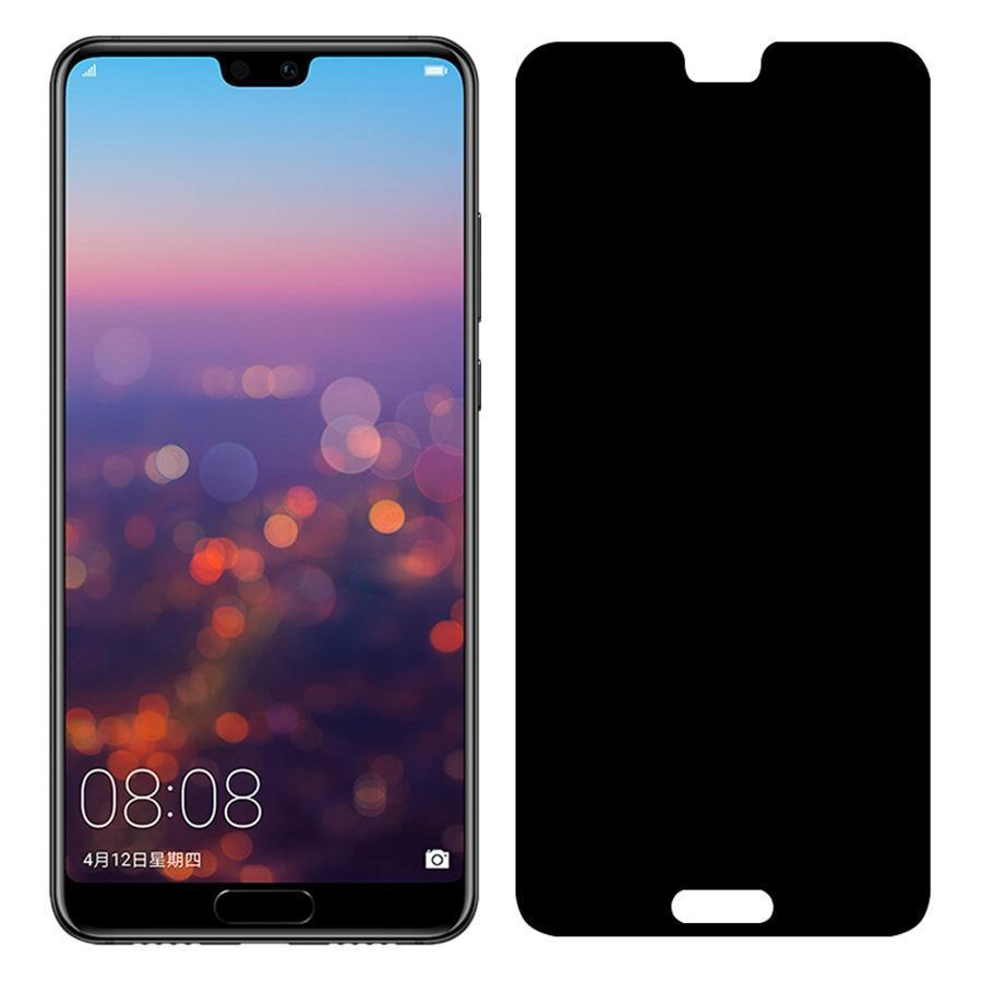 outlet store e621c 243da Privacy Screen For Huawei P20 Anti Spy Tempered Mate Full Cover Film  Privacy Screen Protector Tempered Glass For Huawei