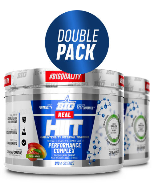 REAL HIIT - PACK 2 SABORES