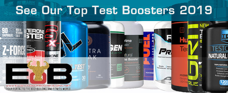 Our Top Testosterone Boosters