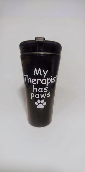 My Therapist has Paws Tumbler