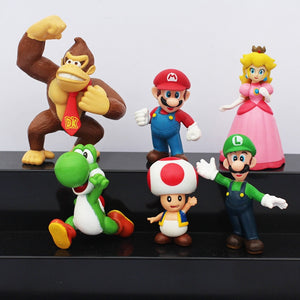 Kit Super Mario Bros - Action Figures