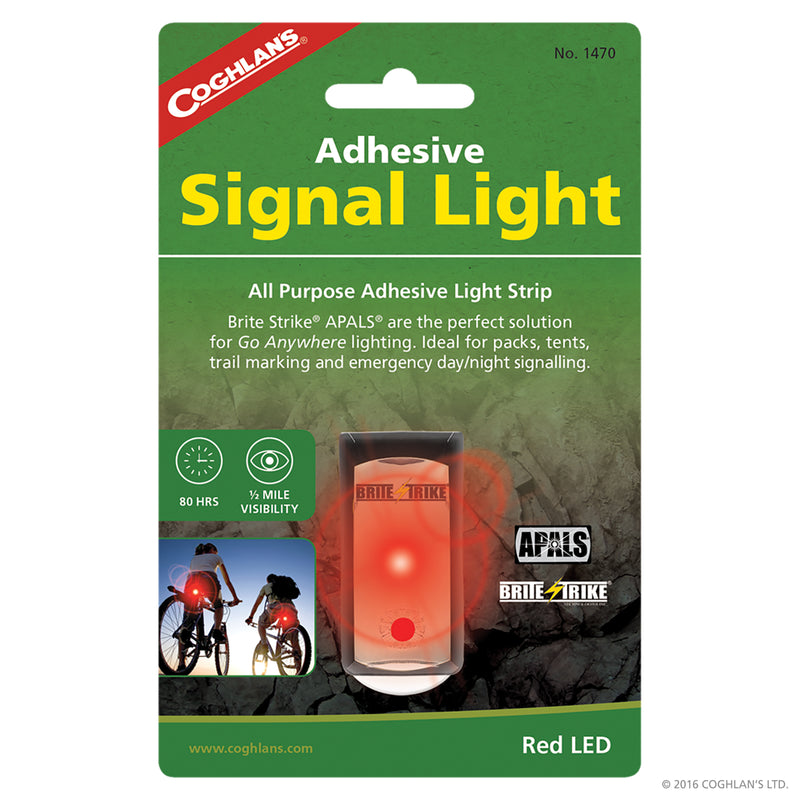 Red Adhesive Signal Lights