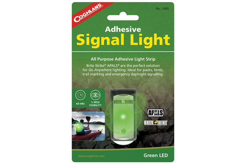 Green Adhesive Signal Lights
