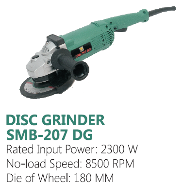 Sunmoon Angle Grinder 180mm 2300W