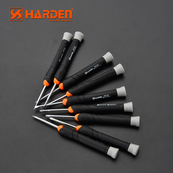 Harden 9Pcs CRV Precision Screwdriver Set