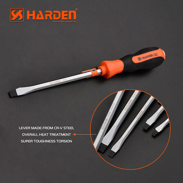 Harden Slotted Screwdriver 5X100mm