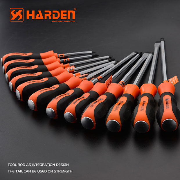 Harden Slotted Screwdriver 8X200mm