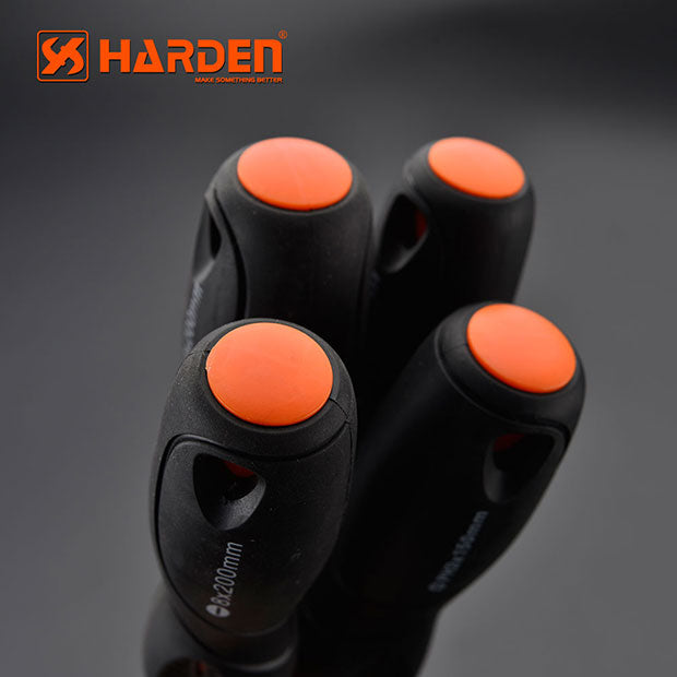 Harden Pro Screwdriver with Soft Handle