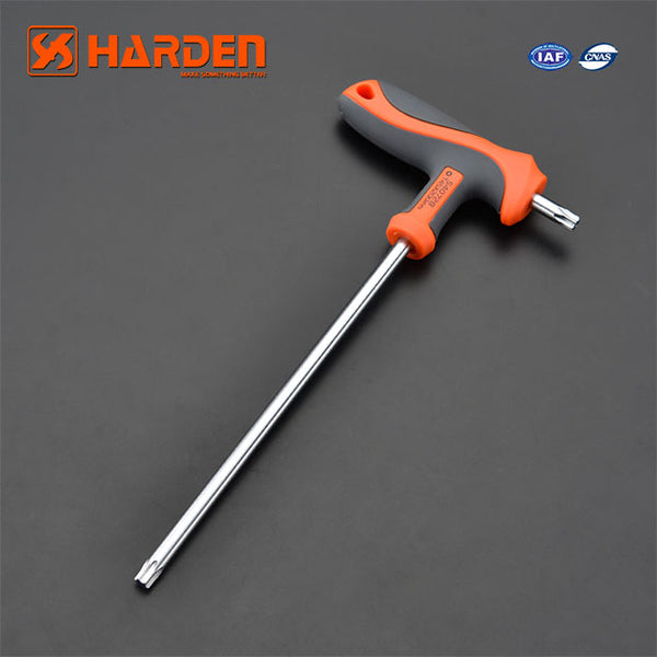 Harden T Handle Torx Key Wrench T15 3.5X75mm