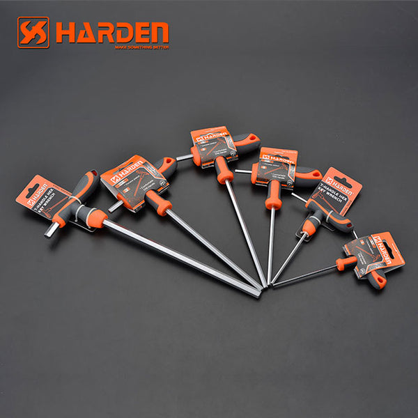 Harden Professional Hand Tool T-HANDLE Hand Tool Hex Key Wrench Set 10X200mm