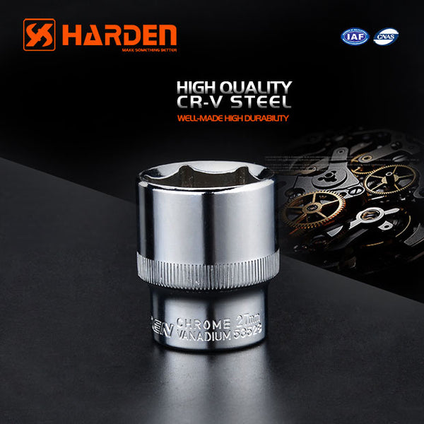 "Harden 1/4"" Dr Hexagon Socket 8mm"