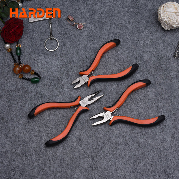 Harden 3Pcs Mini Pliers Set 4.5""