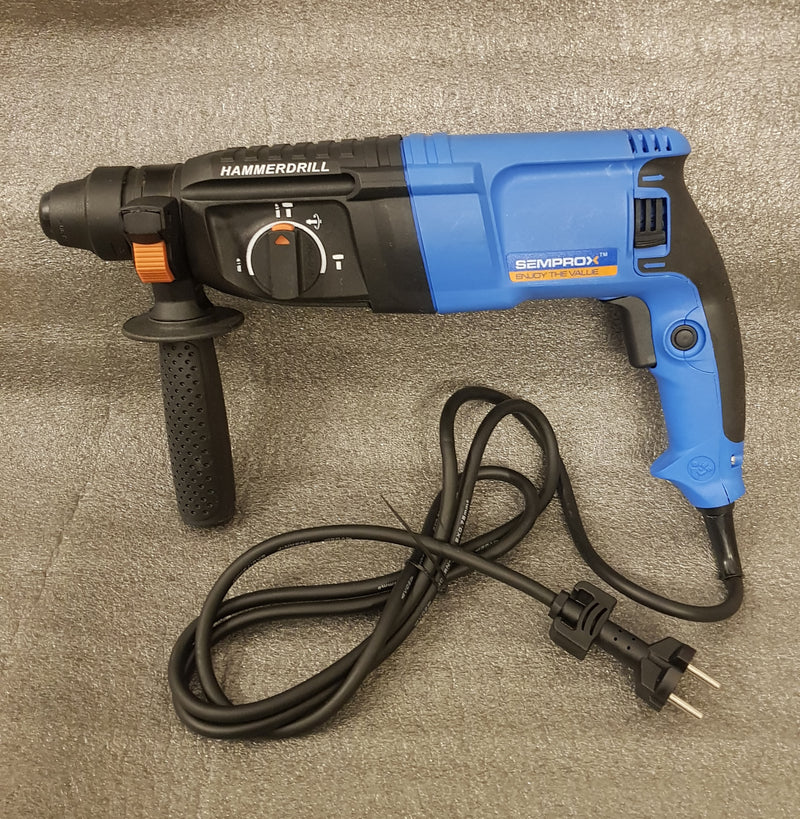 Semprox 26mm Rotary Hammer Drill Machine 800W With Accessories