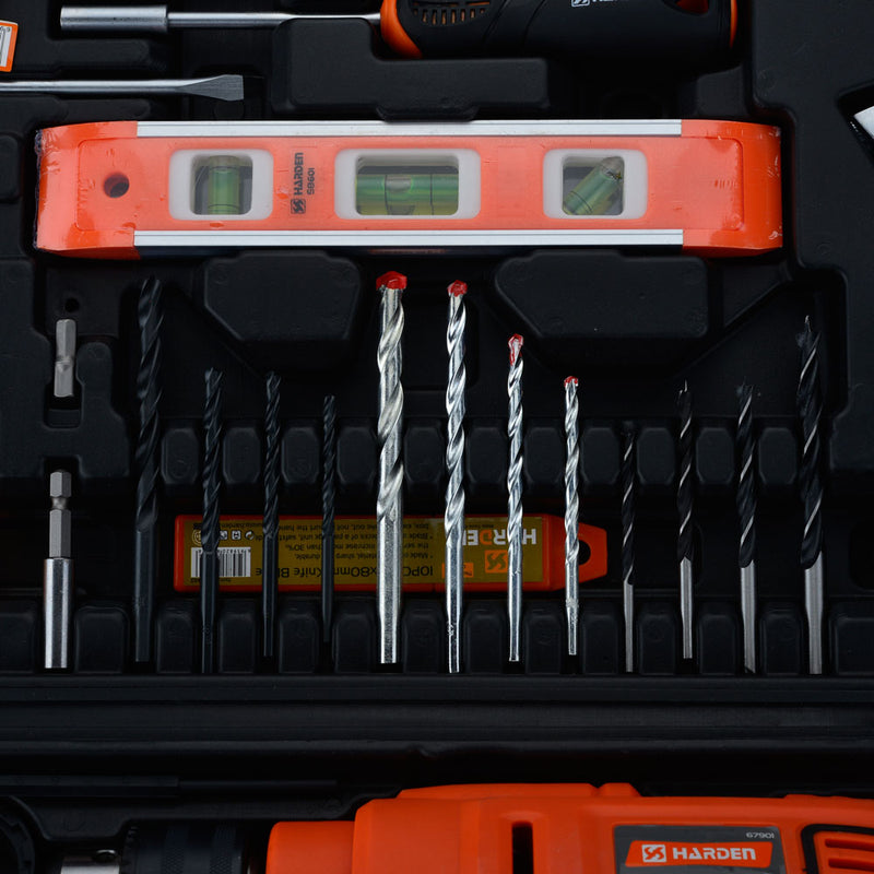 Harden 75pcs Multi-functional Impact Drill Set