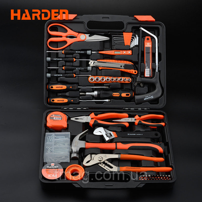 Harden 63PCS TOOLS SET