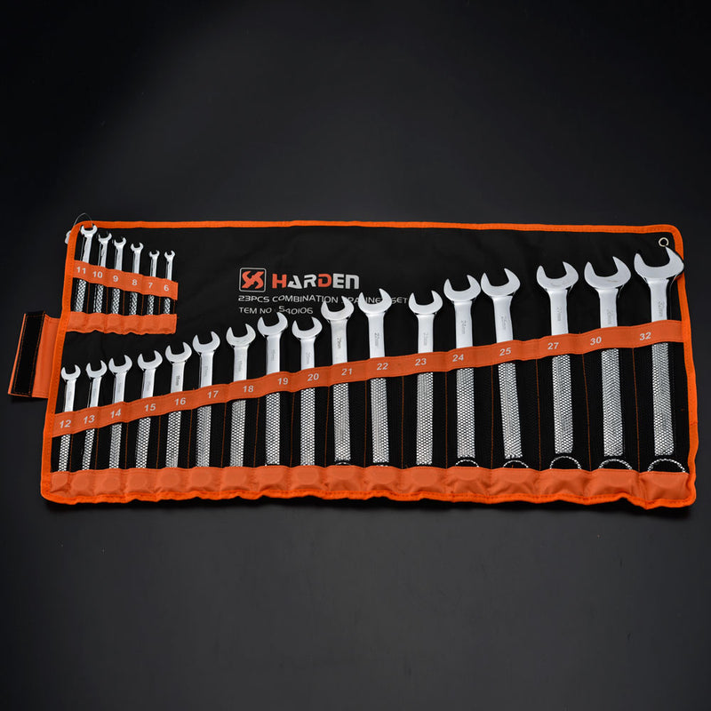 Harden 23Pcs Combination Spanner Set Size 6 - 32mm