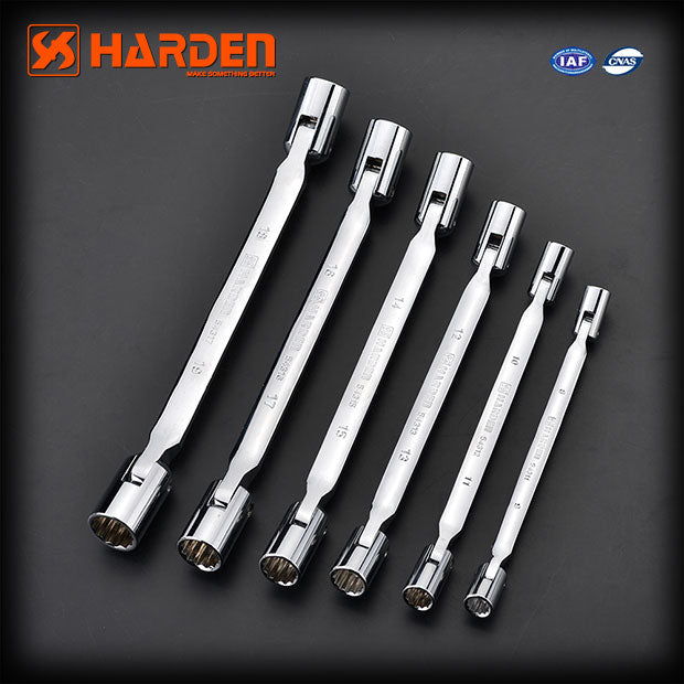 Harden Double Socket WrenchSize14 x 15mm