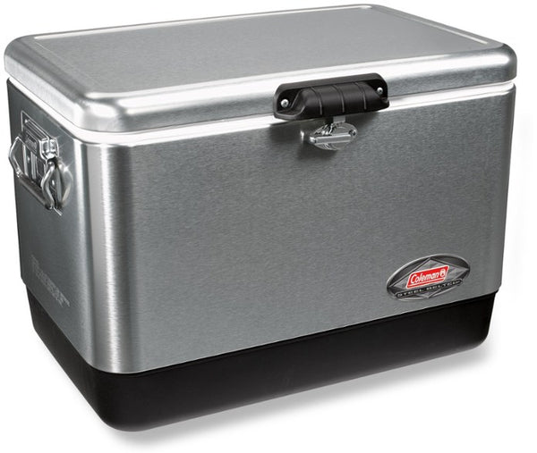 54 QUART COLEMAN® STAINLESS STEEL COOLER
