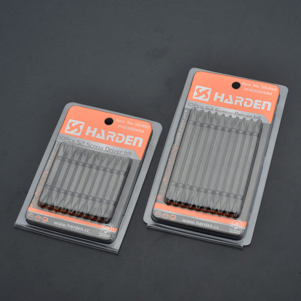 Harden 10PCS S2 Screwdriver Bit