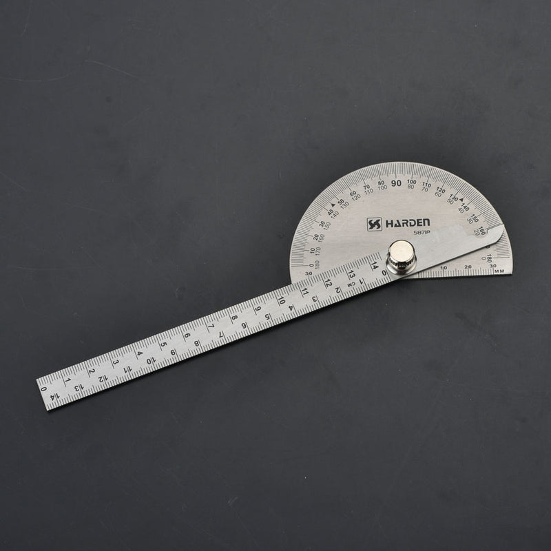 Harden Bevel Protractor Stainless Steel Size 90 X 150mm