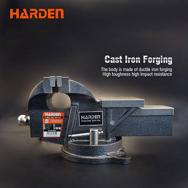 "Harden 6""/26.5kg Heavy Duty Table Vice"