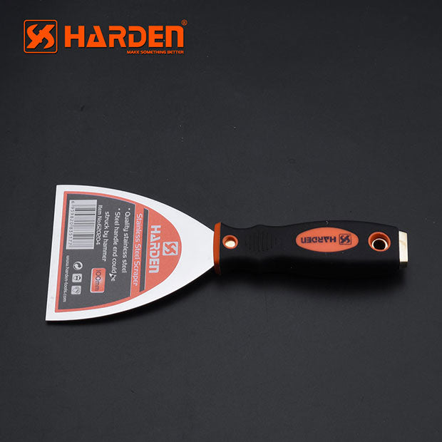 Harden Stainless Steel Scraper 75mm