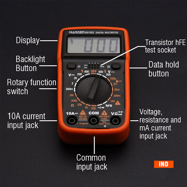 Harden Digital Multimeter