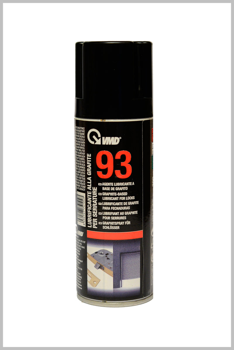 Graphite Based Lubricant for Locks