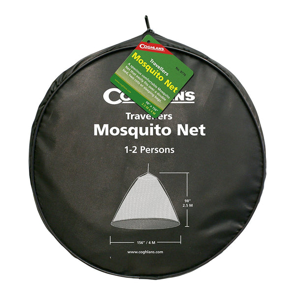 "Travellers Mosquito Net                                                          Height: 98"" (2.5 m)"