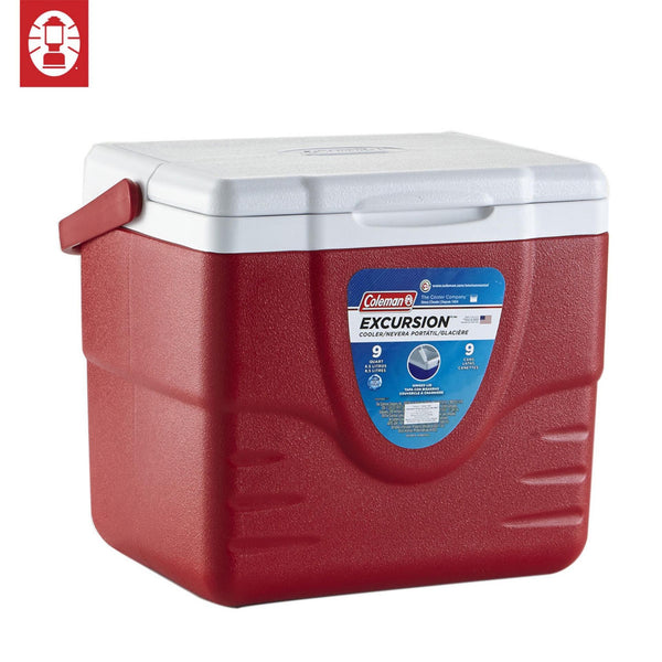 9 QTR EXCURSION COOLER RED