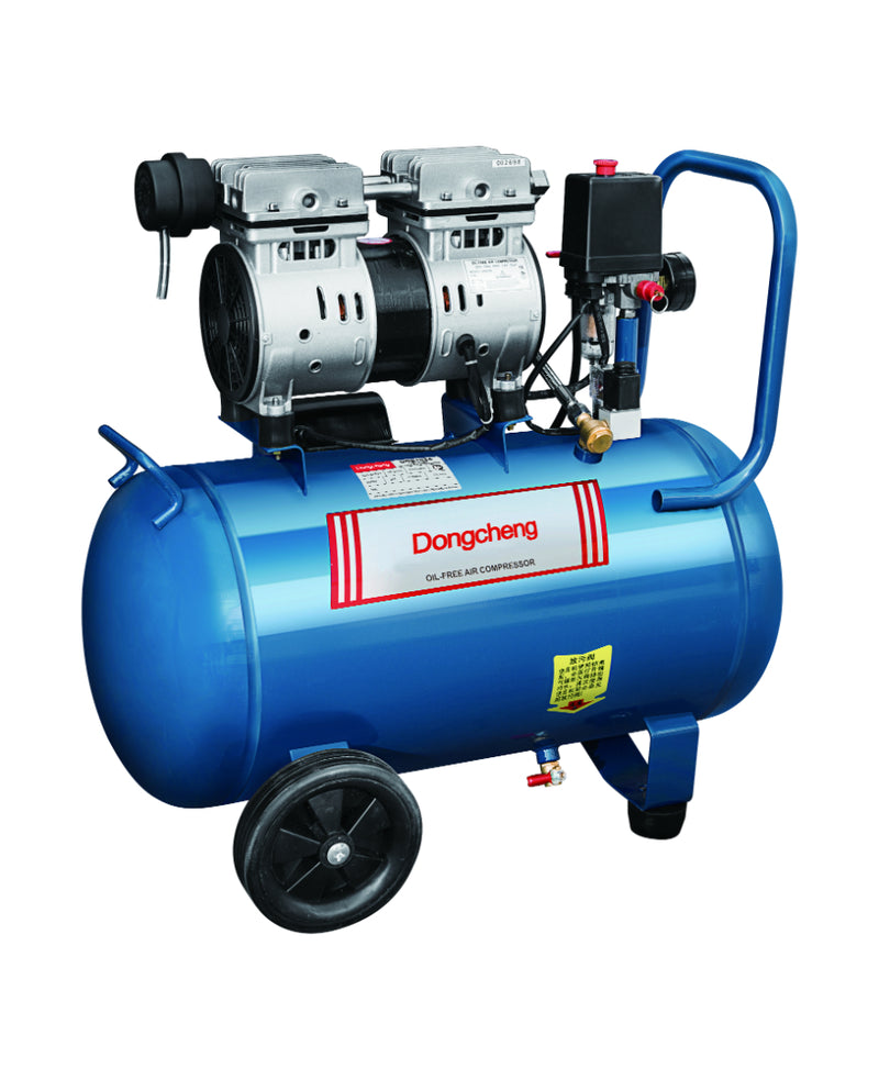DONGCHENG OIL-FREE MUTE AIR COMPRESSOR, 24L, 750W