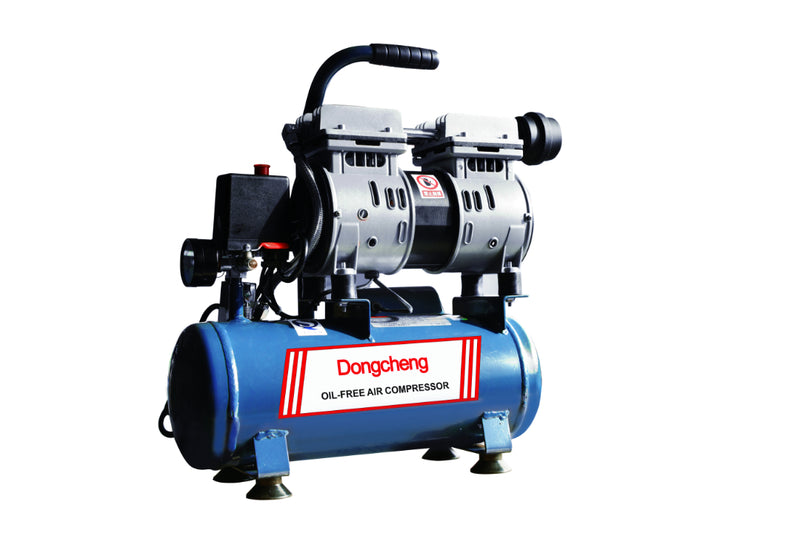 DONGCHENG OIL-FREE MUTE AIR COMPRESSOR, 8L, 550W