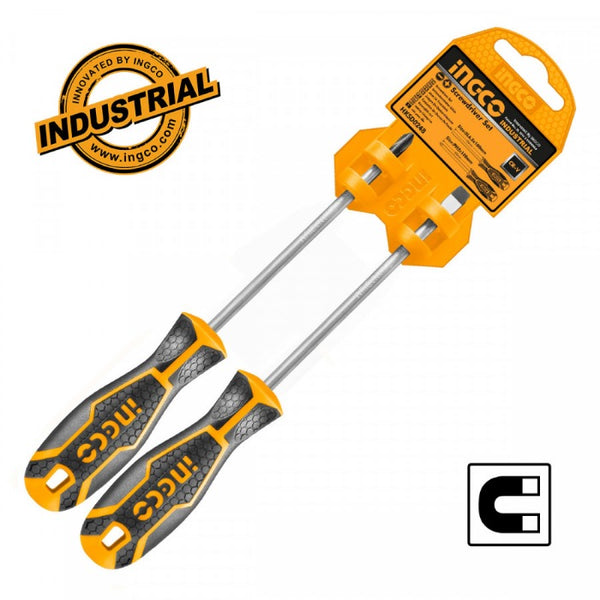 Ingco 2 pcs screwdriver set