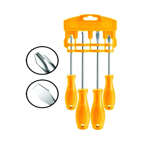 Ingco 4 pcs screwdriver set