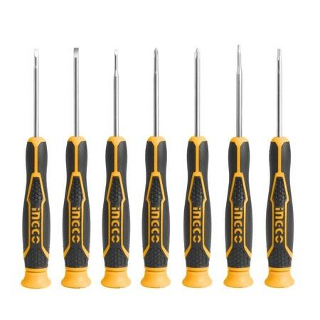 Ingco 7Pcs precision screwdriver set