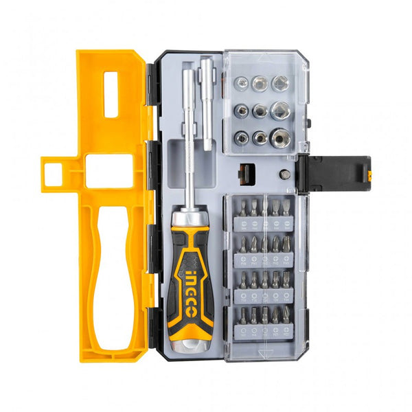 Ingco 33 Pcs screwdriver set