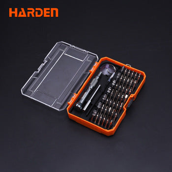 Harden 46pcs CRV Screwdriver Bit Set