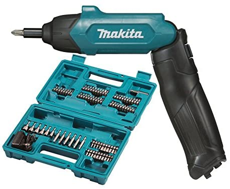 Makita DF001DW Screwdriver Complete with Built-in Battery, 6 W, 3.6 V, Blue