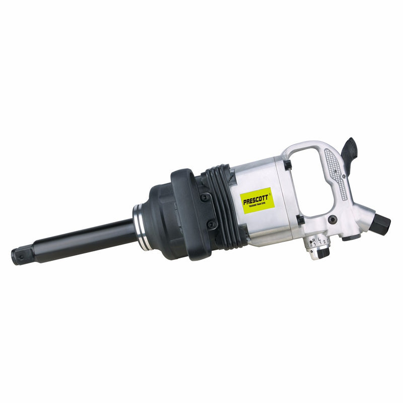 "Prescott 1"" Pneumatic Impact Wrench 4200rpm PAT0325401+"